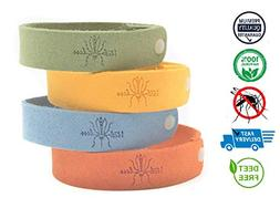 Itchless Mosquito Repellent Bracelet 12pk 100% Essential Oil
