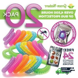 mosquito repellent bracelets 20 Individually packed and 24 p
