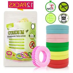 Mosquito Repellent Bracelets. Pack of 10 - 250Hrs of Insect