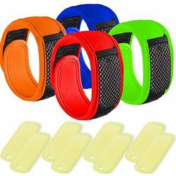 NextGen Outdoors Mosquito Repellent Bracelets DEET FREE  wit