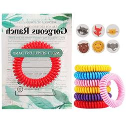 Gorgeous Ranch Mosquito Repellent Bracelets 20 Pack,100% Nat