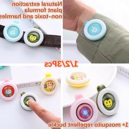 Mosquito Repellent Button Baby Kid Buckle Outdoor Anti-mosqu