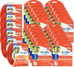 OFF! Mosquito Repellent Combo Kit - 6 Pack Clip On Fan, 48 r
