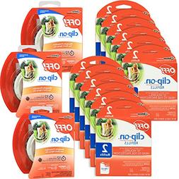 OFF! Mosquito Repellent Combo Kit - 3 Pack Clip On Fan & 24
