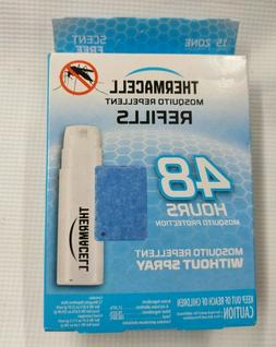 Thermacell Mosquito Repellent Refills (48 hours, Max Life, 1