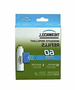 Thermacell Mosquito Repellent Refills, 60-Hour Pack; Contain