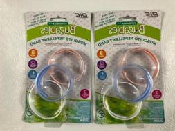 Mosquito Repellent Wristband 2 Packs 3 Count Bugables Deet F