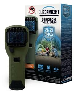 Thermacell MR300 Portable Mosquito Repeller, Olive; Contains