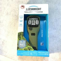 Thermacell MR300 Portable Mosquito Repeller, Olive Green, Co