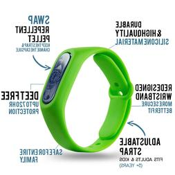 Natural Anti Mosquito Insect & Bug Repellent Bracelet Band D