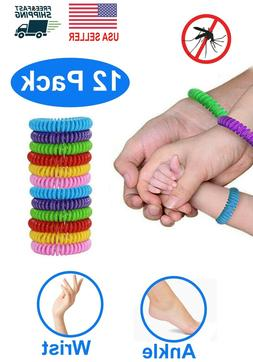 Natural Mosquito Repellent Bracelet Wrist Band Bug Insect Pr