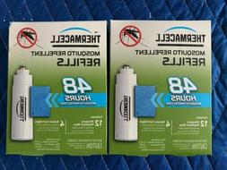 NEW  ThermaCell Mosquito Repellent Refills 4 Butane Carts 12