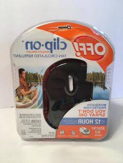 off clip on mosquito bug repellent fan