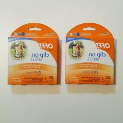 OFF! Clip-on Mosquito Repellent Refills 2 packs