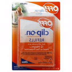 OFF! Clip-On Mosquito Repellent Refills, Pack Of 4  8 Total