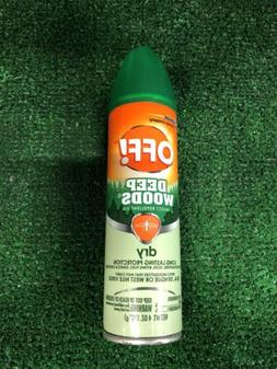 OFF DEEP WOODS DRY Insect Repellent SPRAY Gnats Mosquitoes T