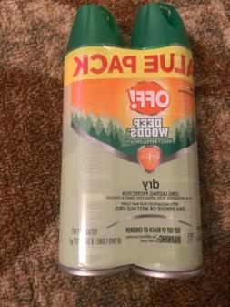 OFF! Deep Woods Insect Repellent VIII Dry, 4 oz.  8 Ounce, M