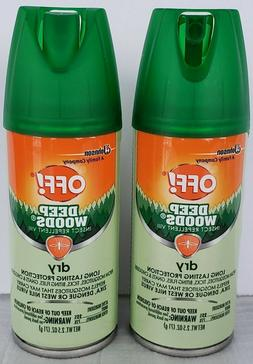 OFF! Deep Woods Mosquito Spray - Insect Repellent 2.5oz Trav