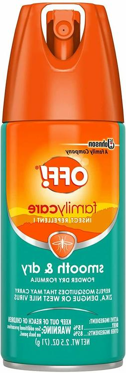 OFF! Family Care Insect & Mosquito Repellent I, Smooth & Dry