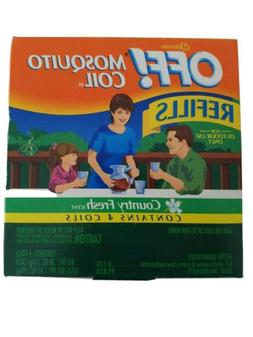 OFF Mosquito Coil Refills Country Fresh Scent Contains 4 coi