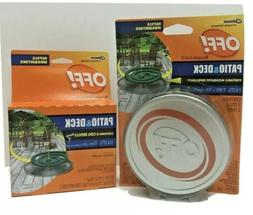 OFF! Mosquito Repellency Coil Patio & Deck 3 Coils 3 Trays +