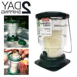 Outdoor Hanging Candle Lantern Camping Mosquitoes Repel Back