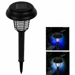 Outdoor Solar Mosquito Killer Zappers Lamp Garden Yard Path