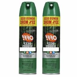 Pack of 2 Off! Deep Woods Insect Repellent Total 16 oz. 8 oz