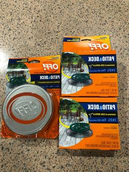 OFF Patio and Deck Mosquito Coil with 2 6pk Refills! 15 Coil
