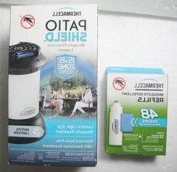 THERMACELL Patio Shield Mosquito Repellent MR-9SB with 48 Ho