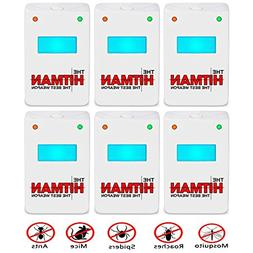 Pest Repeller - BEST Control 6-Pack with MAXI BAND TRIPLE Po