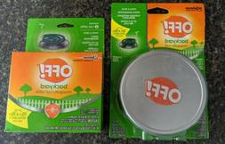Off! Patio/Deck Portable Mosquito Repellency 3 Coils 3 Trays