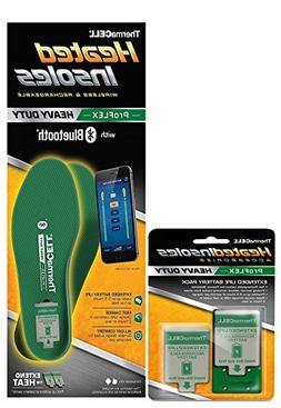 ThermaCell ProFlex HEAVY DUTY Heated Insoles LARGE  - PFHD-L