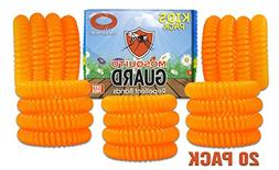 Mosquito Guard Kids Repellent Bands/Bracelets  Made with Nat