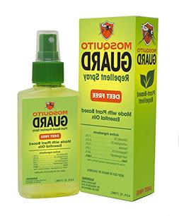 Mosquito Guard Repellent Spray,  Made with Natural Plant Bas