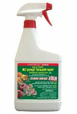 Summit 122 Year-Round Spray Oil for Garden Insects Ready-to-