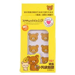 TAIWAN MADE RILAKKUMA 3M MOSQUITO REPELLENT STICKERS PATCHES