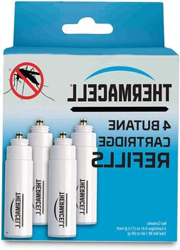 Thermacell C-4 Butane Cartridge Refill 4-Pack Mosquito Spare