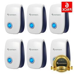 6x Ultrasonic Pest Repeller Electronic Plug In Control Repel