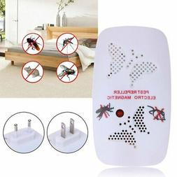 Ultrasonic Mice Pest Repeller Wall Plug Type Mosquito Repell