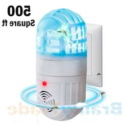 Ultrasonic Mosquito Repellent Atomic Bug Zapper Pest Repelle