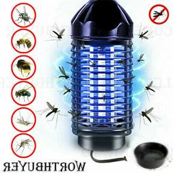 US Plug Electric UV Mosquito Killer Lamp Trap Fly Bug Insect